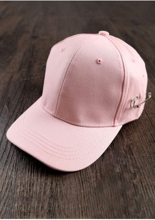 Solid Pin Adjustable Baseball Hat