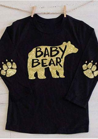 Baby Bear Paw O-Neck T-Shirt