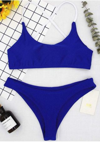 Splicing Bikini Set