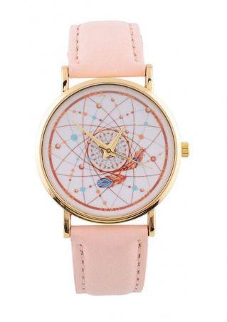 PU Alloy Wrist Watch