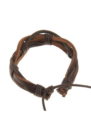Hemp Surfer Leather Bracelet
