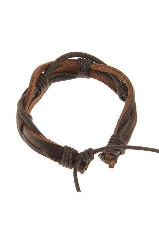 Hemp Surfer Leather Bracelet