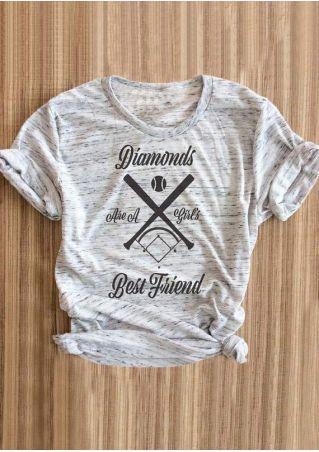 Diamonds Best Friend O-Neck T-Shirt