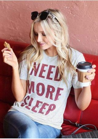 Need More Sleep Short Sleeve T-Shirt