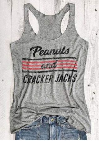 Peanuts And Cracker Jacks Tank