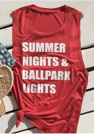 Summer Nights & Ballpark Lights Tank