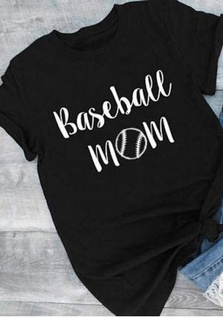 Baseball Mom Short Sleeve T-Shirt