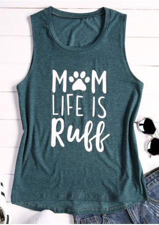 Mom Life Is Ruff Tank