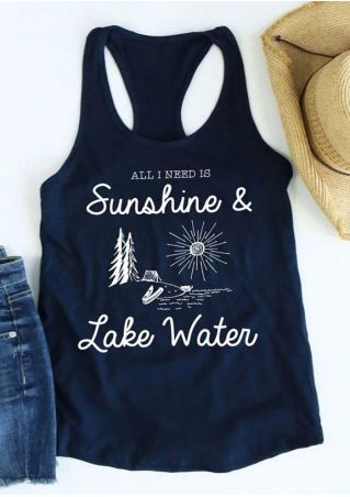 All I Need Is Sunshine & Lake Water Tank