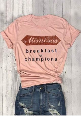 Mimosas Breakfast Of Champions T-Shirt