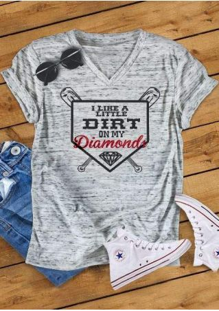 I Like A Little Dirt On My Diamonds T-Shirt