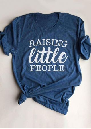 Raising Little People O-Neck T-Shirt