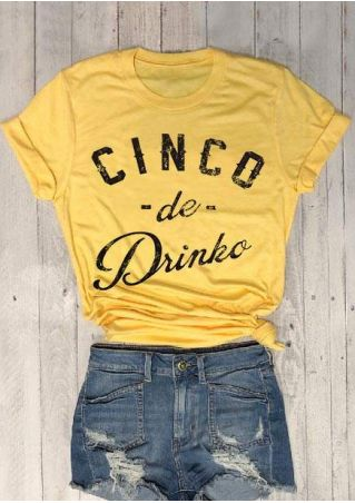 Cinco De Drinko Short Sleeve T-Shirt