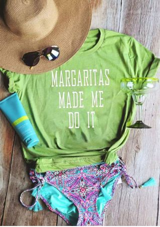 Margaritas Made Me Do It T-Shirt