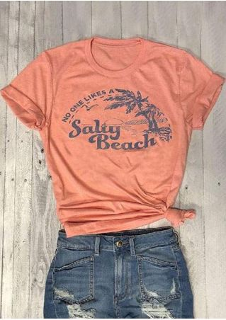 No One Likes A Salty Beach T-Shirt