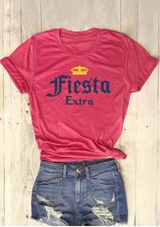 Fiesta Extra Short Sleeve T-Shirt