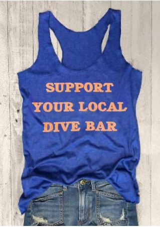 Support Your Local Dive Bar Tank