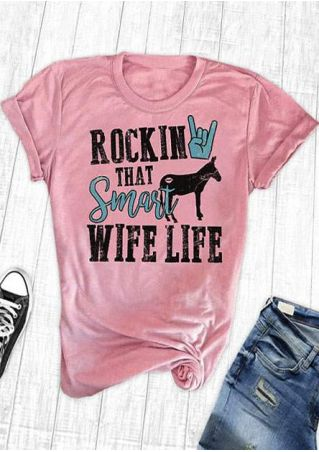Rockin That Smart Wife Life T-Shirt