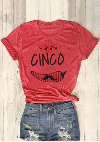 Cinco De Mayo Chili T-Shirt