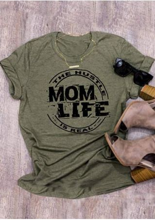 The Hustle Mom Life Is Real T-Shirt