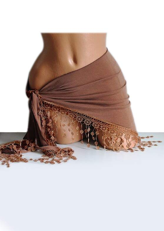 Solid Lace Splicing Beach Sarong