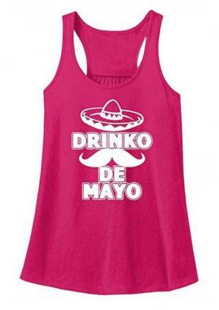Drinko De Mayo Mustache Tank
