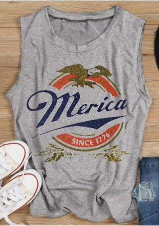Merica Since 1776 Eagle Tank