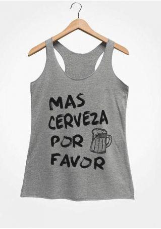 Mas Cerveza Por Faver Tank