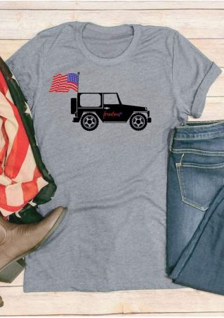 American Flag 4th Of July Freedom T-Shirt