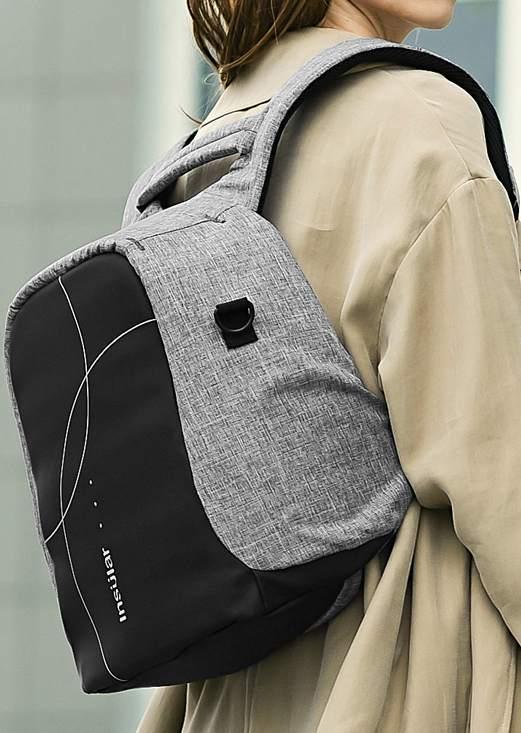 Letter Printed Waterproof Anti-Thief Stroller Diaper Backpack 45866