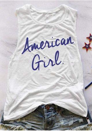 American Girl O-Neck Tank