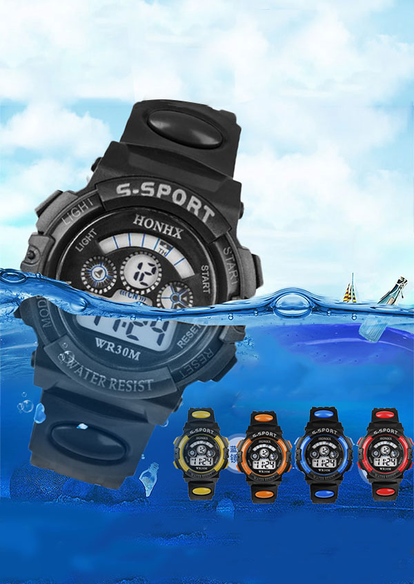 LED Digital Waterproof Outdoor Sports Watches