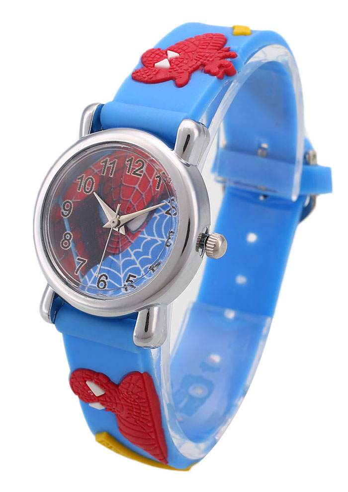 Spider Man Kids Quartz Wrist Watch