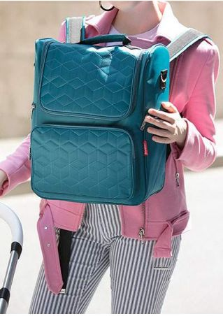 Argyle Waterproof Stroller Diaper Backpack