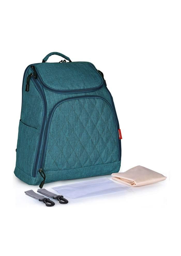 Solid Multi-Way Stroller Diaper Backpack 45989