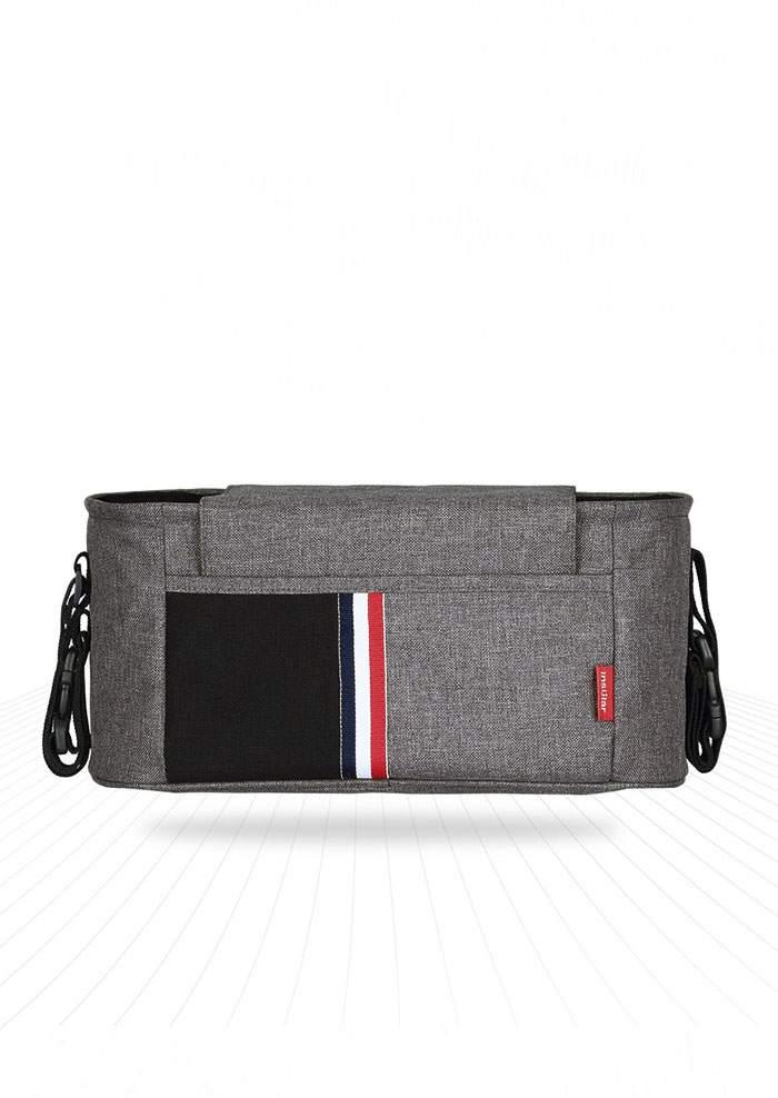 Striped Detail Hanging Stroller Diaper Bag 45990