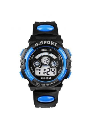 Student Electronic Luminous Waterproof Sport Watch