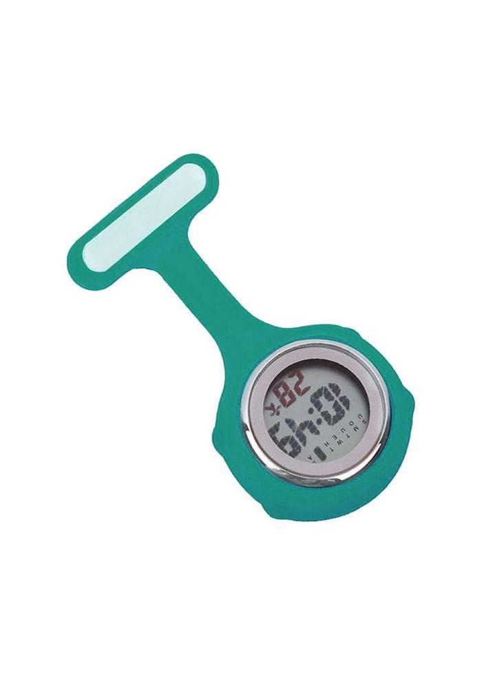 Multi-function Digital Silicone Nurse Watch