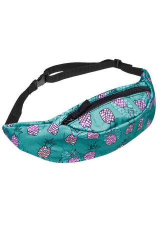 Pineapple Adjustable Strap Fanny Pack