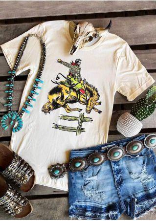 Alberta Bronc Calgary Stampede T-Shirt