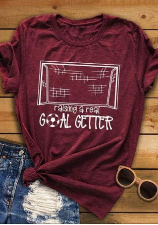 Raising A Real Goal Getter T-Shirt