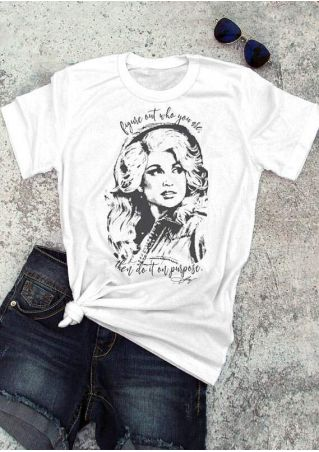 Figure Out Who You Are Dolly Parton T-Shirt