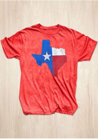 Texas Flag Short Sleeve T-Shirt