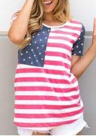 American Flag Short Sleeve T-Shirt