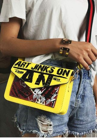 Art Jinks On Crossbody Bag