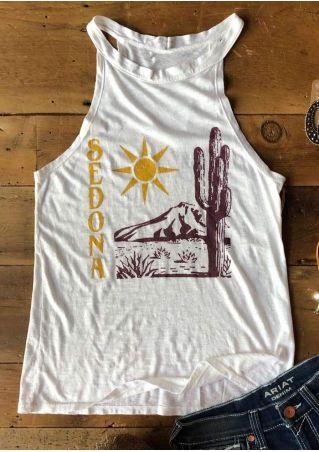 Sedona Cactus Sun Mountain Tank
