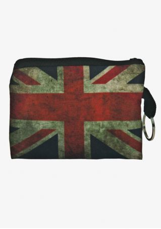 Union Flag Key Ring Coin Purse