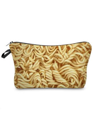 3D Instant Noodles Cosmetic Bag