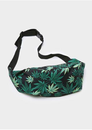 Leaf Adjustable Strap Fanny Pack