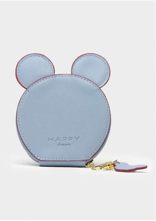 Happy Dream Mouse Ear Shaped Coin Purse